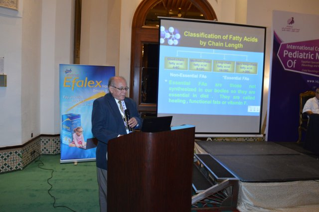 clinical value of omega 3 in Neuropediatrics  held by Dr. Hamed Elkhayat in Cairo