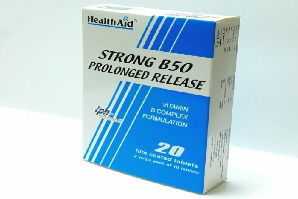 Strong B50 prolonged release  tablets