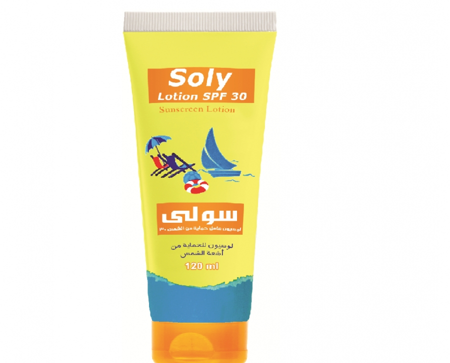 Soly sunscreen lotion